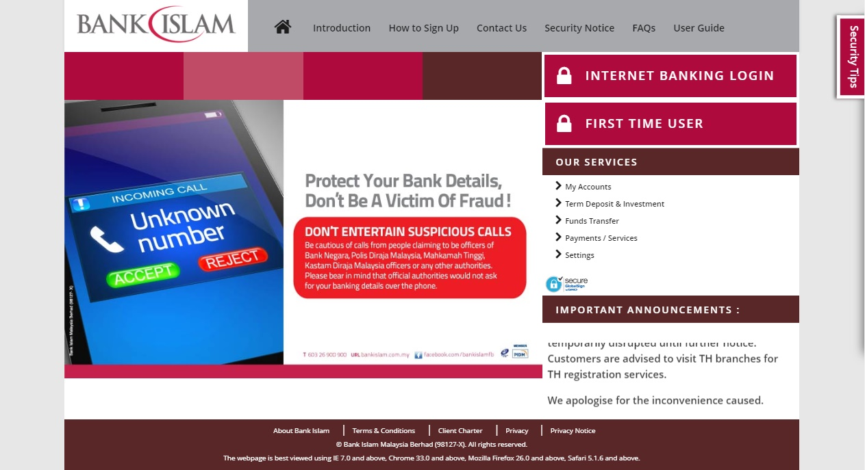 Bank Islam Contact Centre Hotline Careline Customer Toll Free Number
